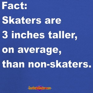 skaters_are_taller T-Shirts - Kids' Premium Hoodie