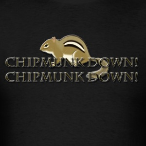 Chipmunk Down! Hoodies - Men's T-Shirt
