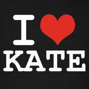 I love Kate - white Hoodies - Men's T-Shirt
