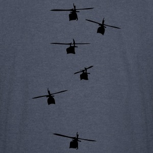 Helicopter Squadron Hoodies - Vintage Sport T-Shirt