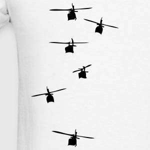 Helicopter Squadron Polo Shirts - Men's T-Shirt