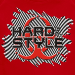 HARD IS MY STYLE - hardstyle stripes | children's shirt - Short Sleeve Baby Bodysuit