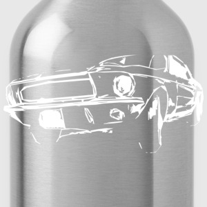 classic US car T-Shirts - Water Bottle