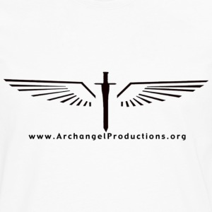 Archangel Productions wings & sword logo - Men's Premium Long Sleeve T-Shirt