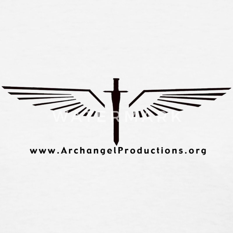 Archangel Productions wings & sword logo - Women's T-Shirt