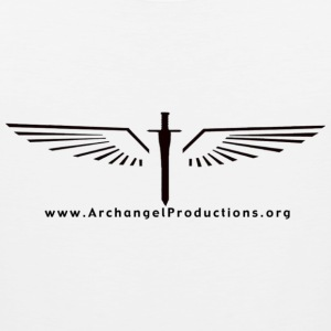 Archangel Productions wings & sword logo - Men's Premium Tank