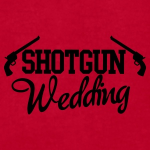 shotgun wedding with 9 irons Caps - Men's T-Shirt by American Apparel