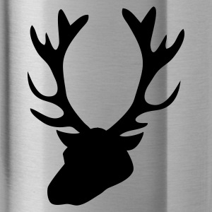 stag head 1 Caps - Water Bottle