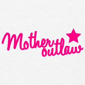 mother outlaw with a staw Caps - Men's T-Shirt
