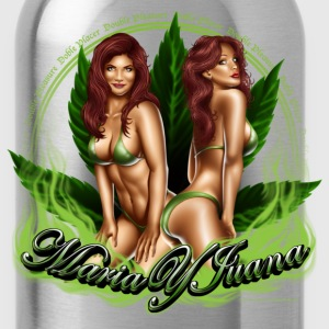 Maria y Juana by RollinLow T-Shirts - Water Bottle