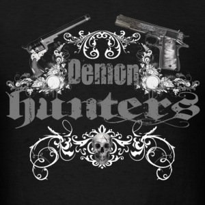 demon hunters white grey Hoodies - Men's T-Shirt