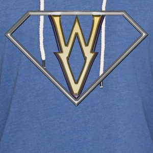 Super WV - rear T-Shirts - Unisex Lightweight Terry Hoodie