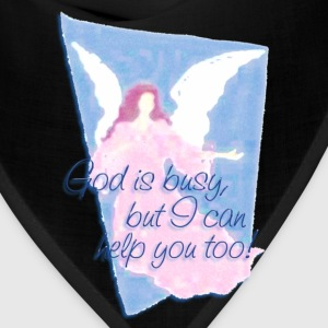 GOD IS BUSY, but I can help you! | children's shirt - Bandana