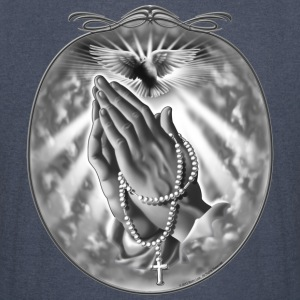 Praying Hands by RollinLow Hoodies - Vintage Sport T-Shirt