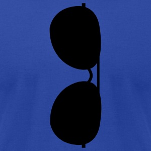 hanging sunglasses Tanks - Men's T-Shirt by American Apparel