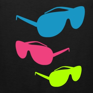 80s shade sunglass shirts Women's T-Shirts - Men's Premium Tank