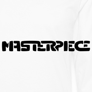 Masterpiece Men's Polo Shirt - Men's Premium Long Sleeve T-Shirt