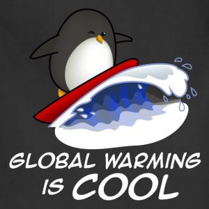 Global Warming Is COOL T-Shirts - Adjustable Apron