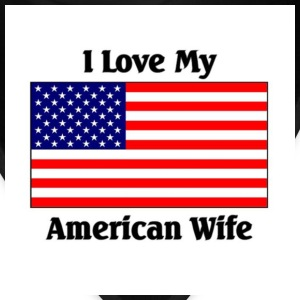 Love my American wife - Bandana
