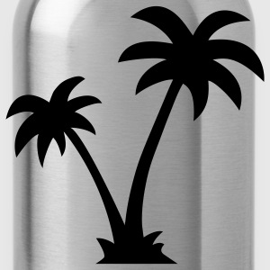 Palm trees T-Shirts - Water Bottle