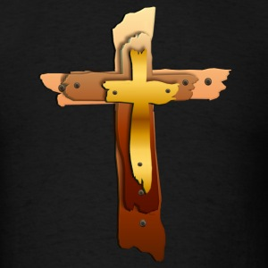 Three Crosses - Men's T-Shirt