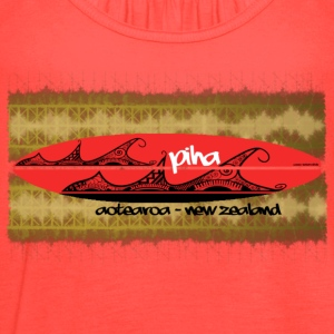 red board piha - Women's Flowy Tank Top by Bella