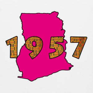 Ghana 1957 pink Long Sleeve Shirts - Men's Premium Tank