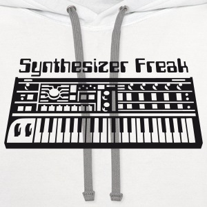 Synthesizer freak T-Shirts - Contrast Hoodie