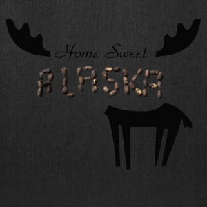 Home Sweet Alaska Ringer T - Tote Bag