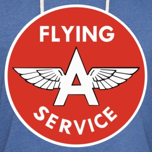 Flying A Service - Unisex Lightweight Terry Hoodie