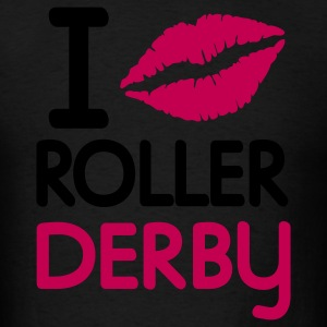 derby i kiss roller derby Tanks - Men's T-Shirt