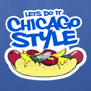 Chicago Style Hotdog - Tote Bag