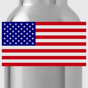 American Flag T-Shirts - Water Bottle