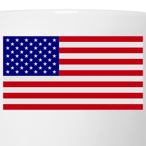 American Flag Polo Shirts - Coffee/Tea Mug