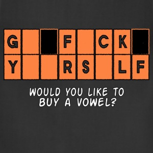 GFY Would you like to buy a vowel? Women's T-Shirts - Adjustable Apron