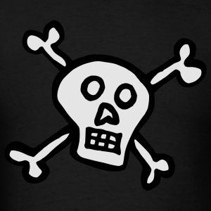 Skull Crossbones Hoodies - Men's T-Shirt