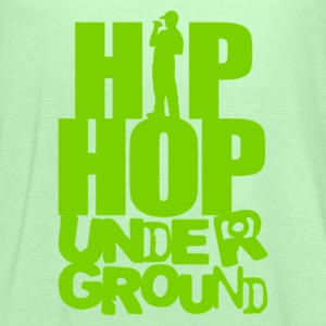 Hip hop underground green T-Shirts - Women's Flowy Tank Top by Bella