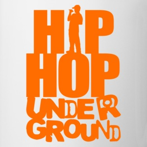 Hip hop underground orange T-Shirts - Coffee/Tea Mug