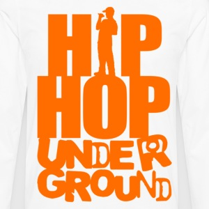 Hip hop underground orange T-Shirts - Men's Premium Long Sleeve T-Shirt