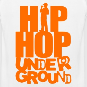 Hip hop underground orange T-Shirts - Men's Premium Tank