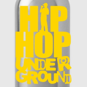 Hip hop underground yellow T-Shirts - Water Bottle