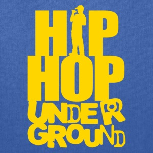 Hip hop underground yellow T-Shirts - Tote Bag