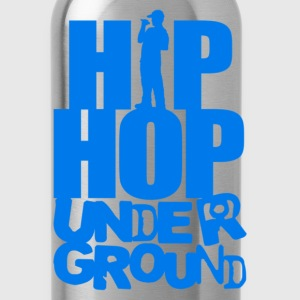 Hip hop underground blue T-Shirts - Water Bottle