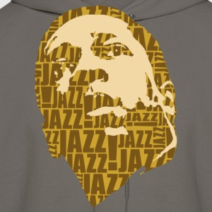 Jazz only brown T-Shirts - Men's Hoodie