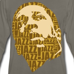 Jazz only brown T-Shirts - Men's Premium Long Sleeve T-Shirt