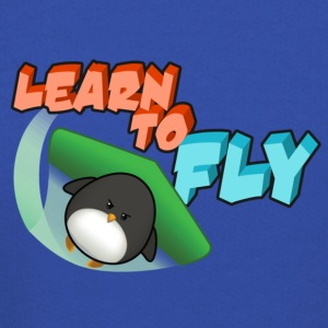 Learn to Fly T-Shirts - Kids' Premium Hoodie