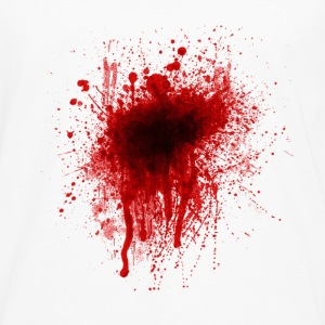 Blood Splatter Hoodies - Men's Premium Long Sleeve T-Shirt
