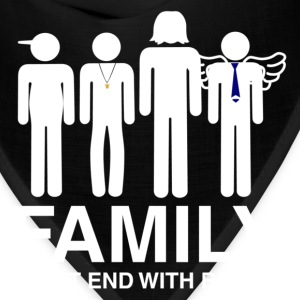 Family (dark) Women's T-Shirts - Bandana