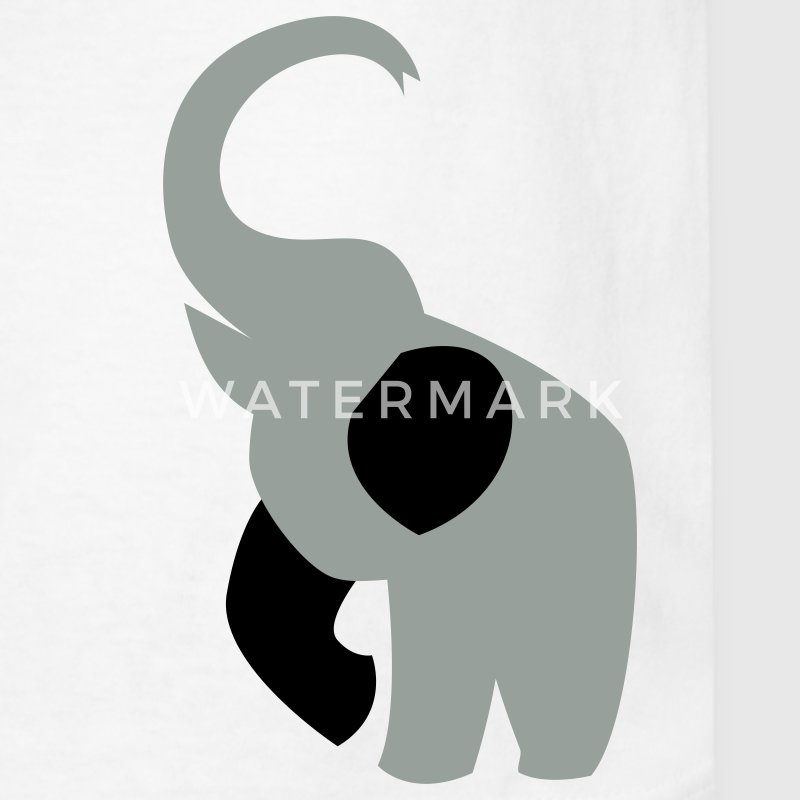 elephant with his trunk up good luck! Kids' Shirts - Kids' T-Shirt