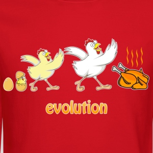 Chicken evolution - Crewneck Sweatshirt